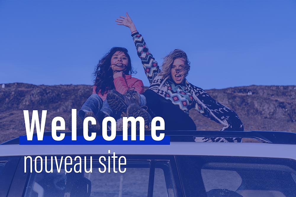 Welcome nouveau site